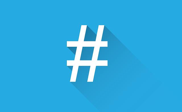social-media hashtag